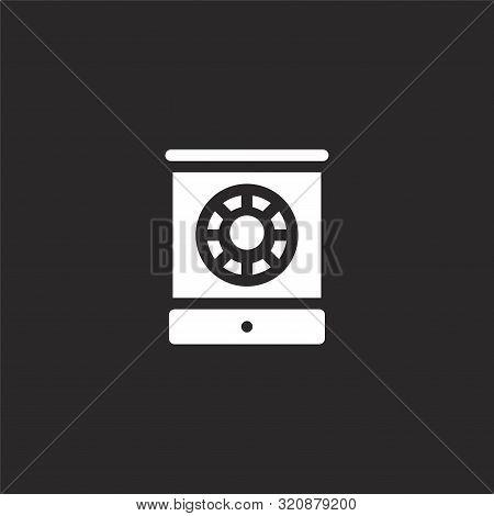 Mai Mai Icon. Mai Mai Icon Vector Flat Illustration For Graphic And Web Design Isolated On Black Bac