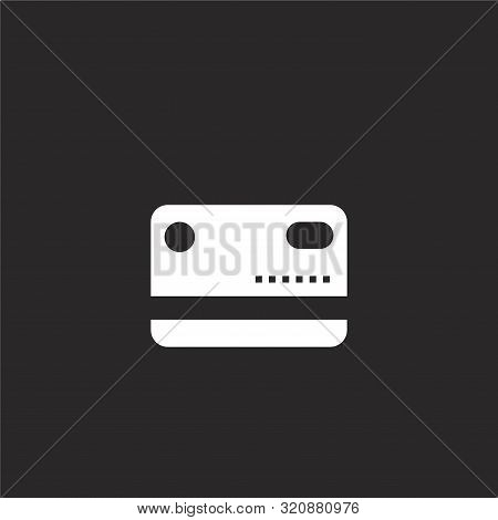 Credit Card Icon. Credit Card Icon Vector Flat Illustration For Graphic And Web Design Isolated On B