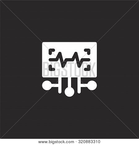 Voice Recognition Icon. Voice Recognition Icon Vector Flat Illustration For Graphic And Web Design I