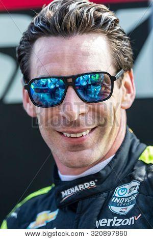 August 31, 2019 - Portland, Oregon, USA: SIMON PAGENAUD (22) of Montmorillon, France  prepares to qualify for the Grand Prix of Portland at Portland International Raceway in Portland, Oregon.