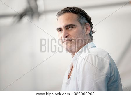 Joaquin Phoenix attends