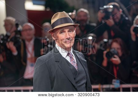 Mark Rylance arrives for the screening of the film