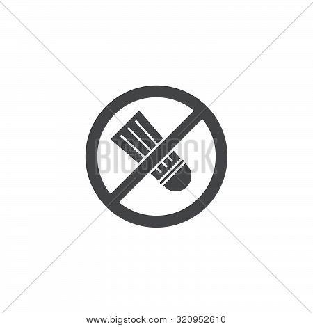 Sodium Free Food Label Vector Icon Symbol Isolated On White Background