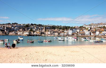 St Ives Harbour Cornwall