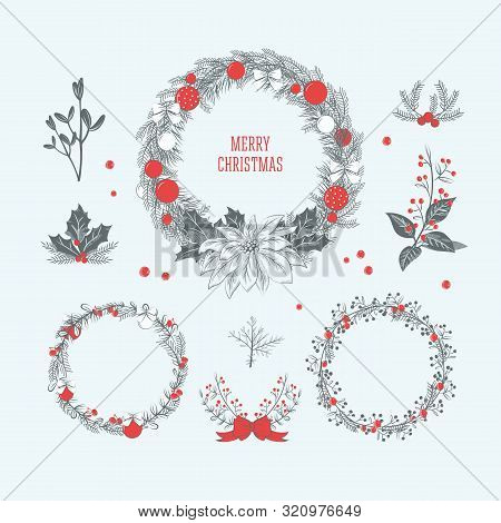 Vintage Christmas Wreath Collection 3