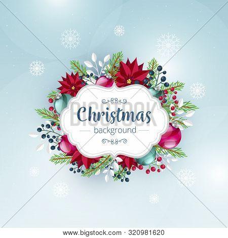 Flat Christmas Background2