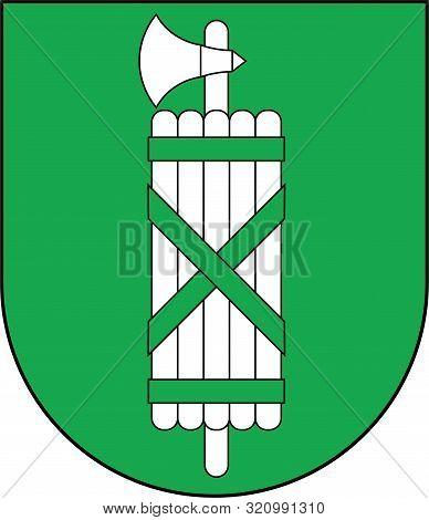 Coat Of Arms Of Сanton St. Gallen Is A Canton Of Switzerland. Vector Illustration