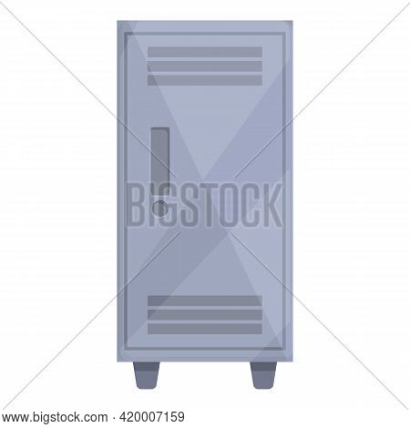 Deposit Room Steel Icon. Cartoon Of Deposit Room Steel Vector Icon For Web Design Isolated On White