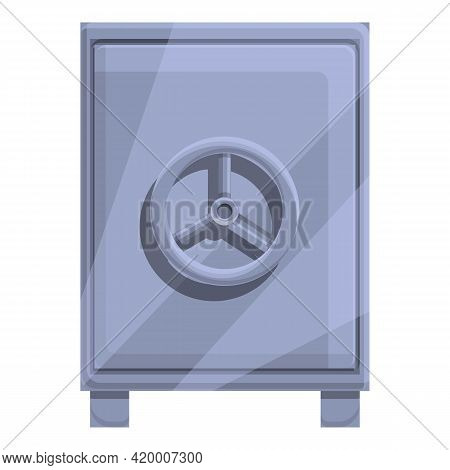 Deposit Room Privacy Icon. Cartoon Of Deposit Room Privacy Vector Icon For Web Design Isolated On Wh