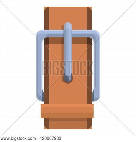 Haberdashery Belt Icon. Cartoon Of Haberdashery Belt Vector Icon For Web Design Isolated On White Ba