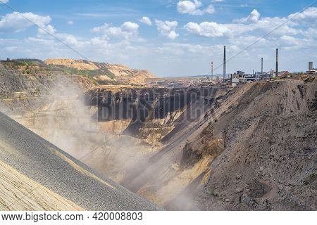 Copper Mine And Smelting Complex Of Zijin Bor Copper In Bor, Serbia On July 13, 2019, One Of The Lar