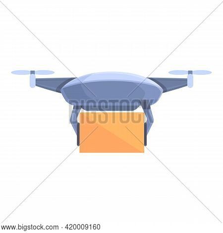 Drone Technology Toy Icon. Cartoon Of Drone Technology Toy Vector Icon For Web Design Isolated On Wh