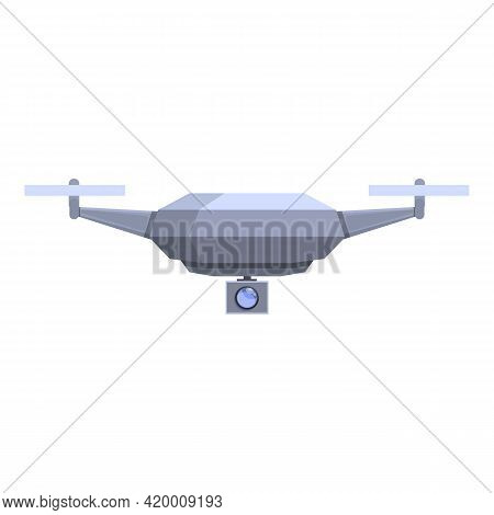 Drone Technology Application Icon. Cartoon Of Drone Technology Application Vector Icon For Web Desig