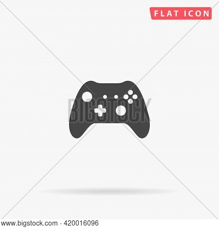 Game Controller Flat Vector Icon. Hand Drawn Style Design Illustrations.