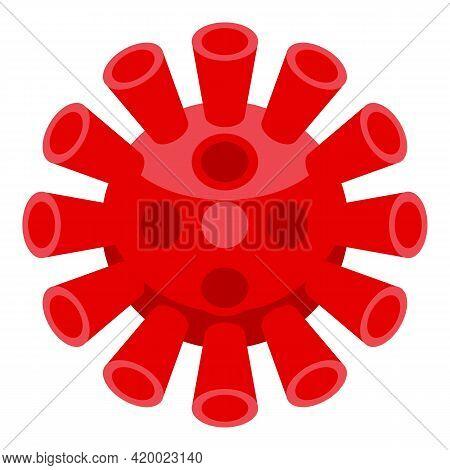 Coronavirus Keep Distance Icon. Isometric Of Coronavirus Keep Distance Vector Icon For Web Design Is