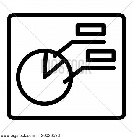 Human Resources Banner Icon. Outline Human Resources Banner Vector Icon For Web Design Isolated On W