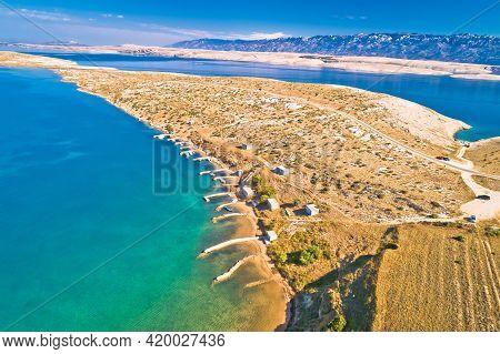Zadar Area Stone Desert Scenery Near Zecevo Island, Dalmatia Region Of Croatia