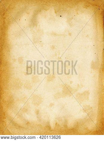 Old Parchment Paper Texture. Vintage Background Wallpaper