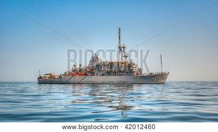 Uss Gladiator (mcm 11) Mine Countermeasures Ship