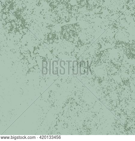 Green Grunge Square Texture For Your Design