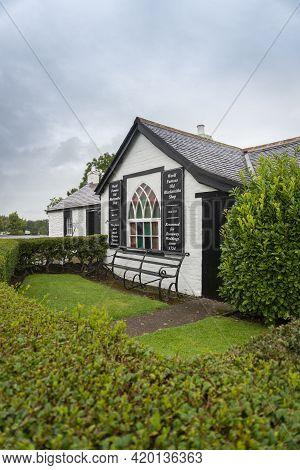 Gretna Green, Scotland, Uk, August 2020 - The Blacksmiths Shop Wedding Venue In The Village Of Gretn