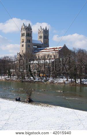 Munich (Germany) in winter