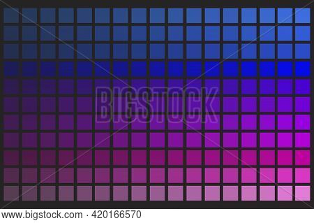 Colorful Palette. Graphic Color Background. Stock Image. Vector Illustration. Eps 10.