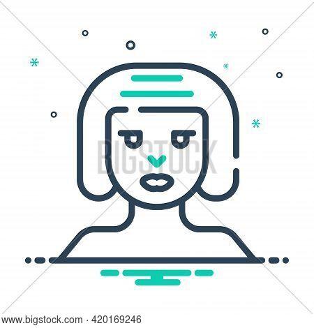 Mix Icon For Women Female Woman Lady Dame Distaff