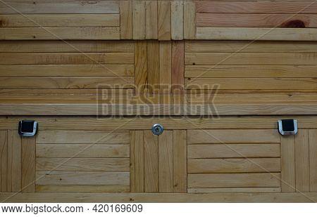 Home Interior Bed Box Back Design Made Of Deodar Cedar Wood