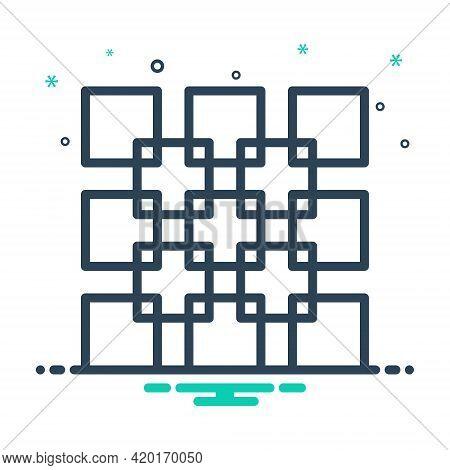 Mix Icon For Join Unite Link Add Connect Attach Concatenate