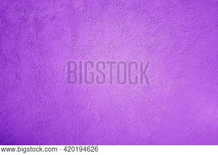 Plastered Wall Texture, Magenta Tone Colored Background
