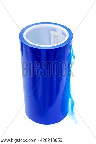 polyethylene laminating and rewinding kind of protective film
