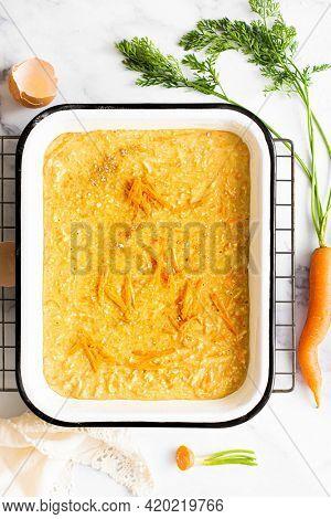 Secret homemade carrot cake recipe