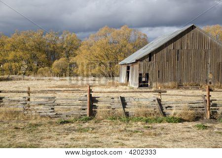Old Rural Barn