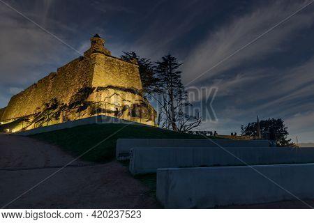Watchtower On The Castro Mount, Vigo, Galicia