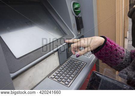 An Automated Teller Machine (atm) Or Cash Machine