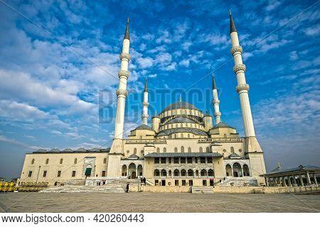 Kocatepe Mosque In Ankara, Turkey Image High Quality