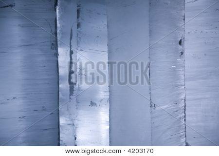 Light Through Blocks Of Ice