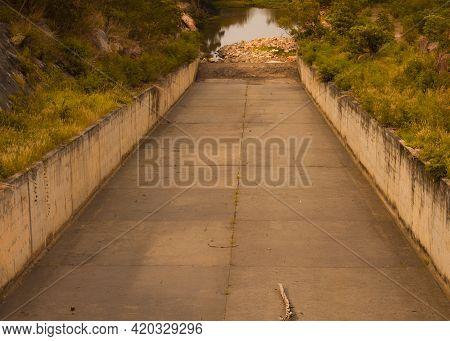 Waterway Of Lam Chiang Sa Dam, Pak Thong Chai, Nakhon Ratchasima 14/04/2021