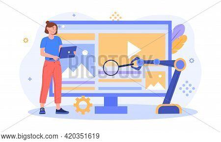 Functional Test, Website Platform Development, Methodology Of Programming, Search Errors And Bugs, D