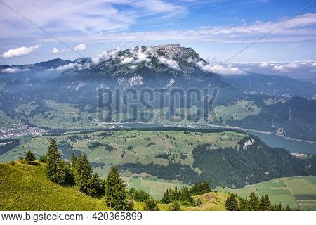 Pilatus, Also Often Referred To As Mount Pilatus, Is A Majestic Mountain Overlooking Lucerne In Cent