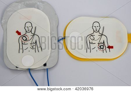 Automated External Defibrillator pads