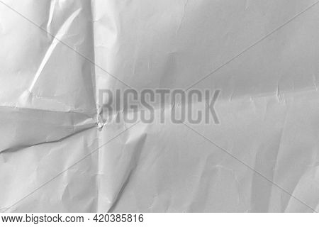 Abstract Paper Wrinkled Dusty Folded Background