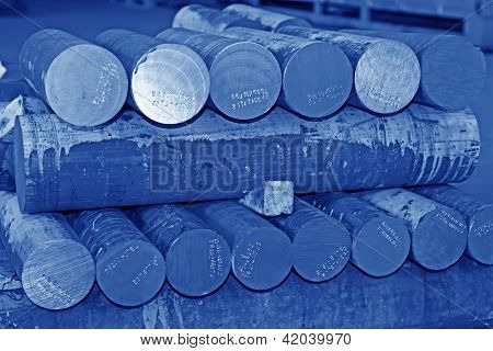 Manufacturing Raw Materials - High Strength Alloy Shafts Billet