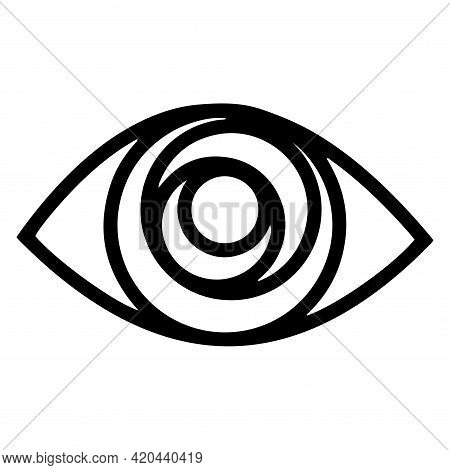 All Seeing Eye. Providence Magic Symbol In Boho Style. Astrology, Occult And Tribal, Esoteric And Al