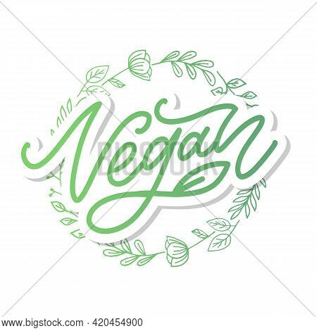 Vector Illustration, Food Design. Handwritten Lettering For Restaurant, Cafe Menu. Vector Elements F