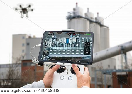 Unmanned Industrial Discovery And Photography Survey Using Drone