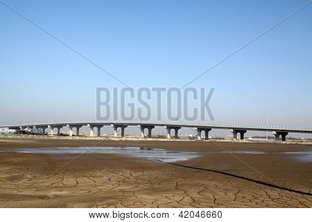 Bridge Baluster And Dry River