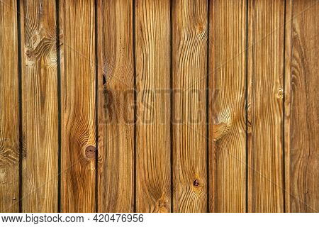Close Up Rustic Wood Plank In Vintage Style. Surface Of Old Wooden Plank.