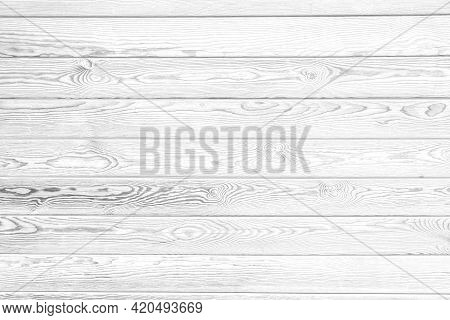 Texture Background Concept: White Wood Plank Texture Background